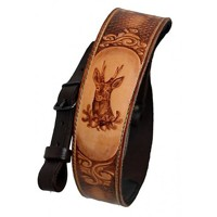 Leather Rifle Sling- Roe deer