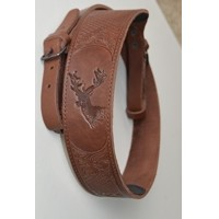 Leather Rifle Sling- Fallow deer