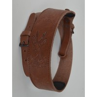 Leather Rifle Sling-Roe deer