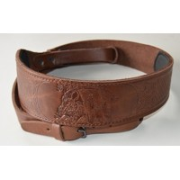 Leather Rifle Sling-wild boar