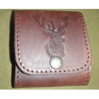 Leather Bullet Wallet - deer2
